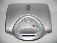 George Foreman 14090 Lean Mean Family Health Grill in Silver