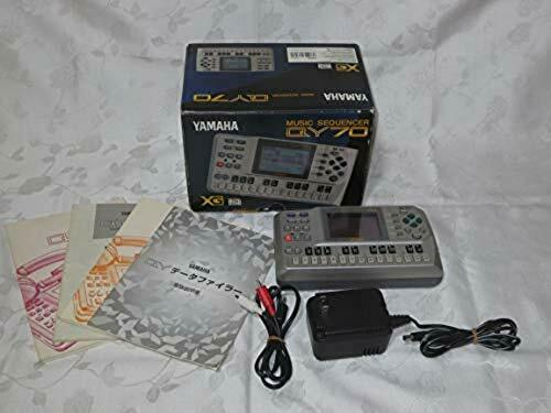 YAMAHA QY70 QY-70 Mobile Sequencer Tested Working Used W/AC AV Cable