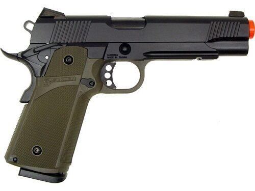 KJW KP-05 Blowback Full Metal Gas Airsoft Pistol Includes 1200 .20g BB