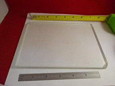 Huge Glass Stage Olympus Microscope Part Optical Optics As Pictured 86-67
