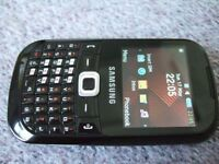 Samsung Black Unlocked Mobile Phone LIKE NEW