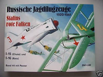 Waffen-Arsenal 44 mit Poster Russische Jagdflugzeuge