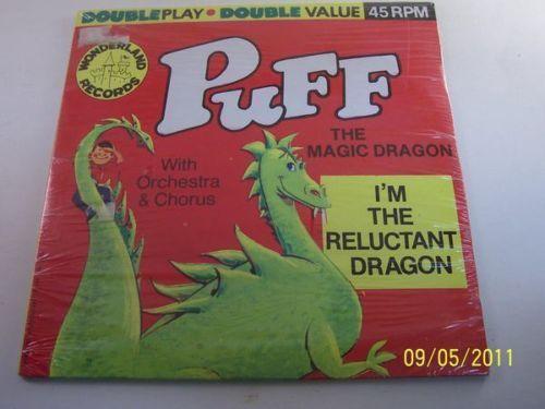 Puff The Magic Dragon Record Ebay