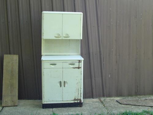 Metal kitchen cabinets ebay for Steel kitchen cabinets
