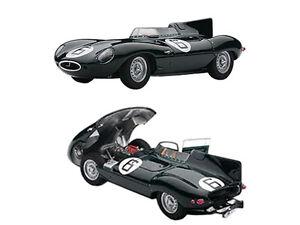 JAGUAR D-TYPE #6 1955 LE MANS WINNER W/OPENINGS 1/43 AUTOART 65586
