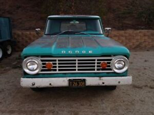 WHITE GRILL for 65-67 Dodge D100