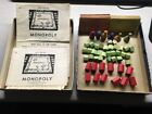 Wooden Monopoly Game Pieces & Parts without Modified Item
