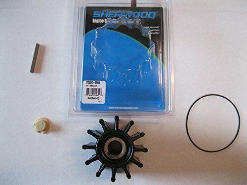 Sherwood Neoprene 12 Blade P Impeller Kit w/Gasket/O-Ring 17000K