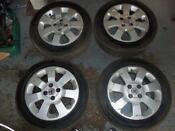 Vauxhall Zafira Alloy Wheels with Tyres