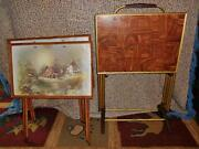 Vintage Folding TV Trays
