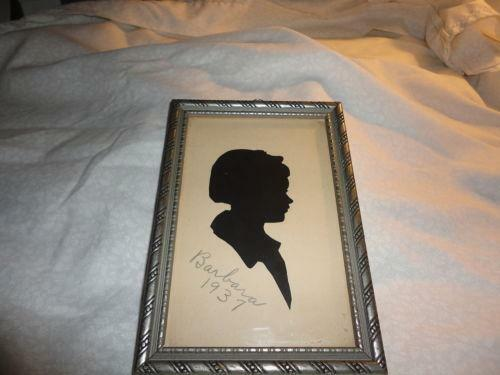 Silhouette Pictures Ebay