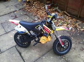 50cc mini moto bike
