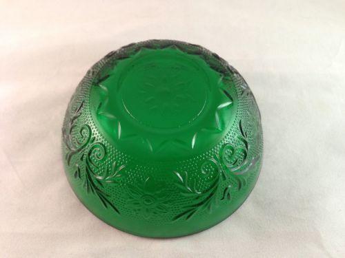 Forest Green Depression Glass Ebay
