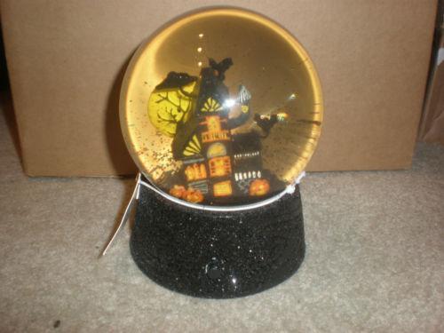 Halloween Snow Globe Ebay