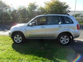TOYOTA RAV 4 XT4 DIESEL MANUAL 5 DOOR LEATHER