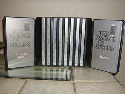 THE ESSENCE OF SUCCESS - Earl Nightingale Conant - 20 CDs + 20 Tapes - MSRP $400 for sale  Minneapolis