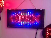 """OPEN"" LED Sign SR"