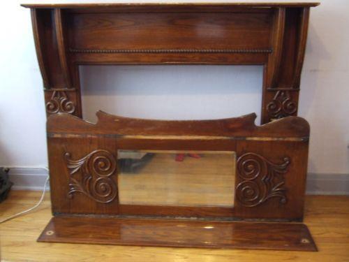 Fireplace Mantel Mirror