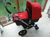Bugaboo Cameleon Travel System Pram Pushchair and Carry Cot. Very Great Condition.Birth to 4 years