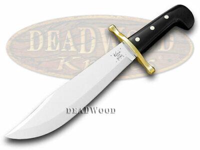 Case Bowie Black Handle Knife