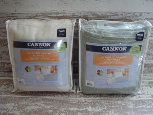 Cannon Electric Blanket Ebay