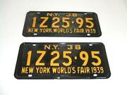 New York Worlds Fair Plate