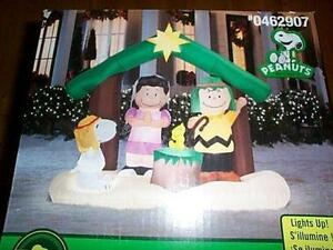 peanuts christmas yard decorations