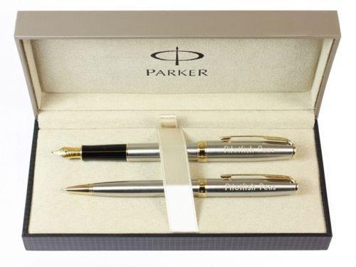 Engraved Parker Pen Set