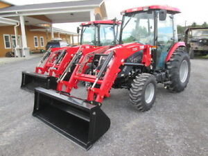 55 HP BLOW OUT SALE!!! TYM 554 Cab and Loader