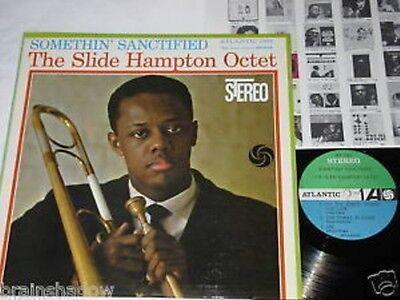 THE SLIDE HAMPTON OCTET somethin sanctified LP Atlantic  Rec. US 1961 JAZZ