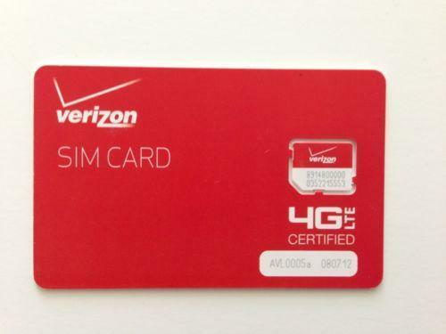 do verizon iphones have sim cards motorola sim card ebay 18382