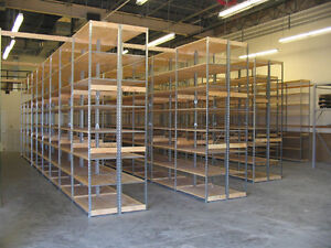 USED Excalibur Shelving ***COMMERCIAL STORAGE SHELVING
