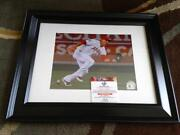 Mike Trout Signed Photo
