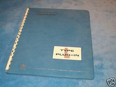 Tektronix Instruction Manual Type L Plug-in Oscilloscope Module