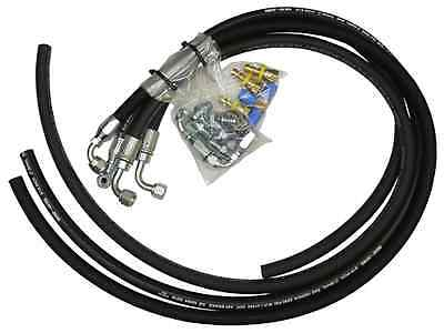 Hydro Boost Hose Kit - Rubber with Fittings - Hydro Fit Kit
