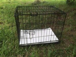 "24"" Pet Puppy Dog Cat Rabbit Cage Crate Pen Divider,Cover,Mat"