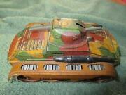 Vintage Toy Tank