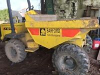 Barford SX3000, good condition, ready to work, 3 tonne.