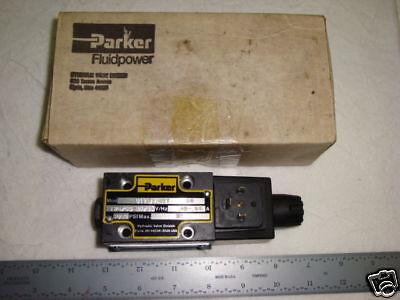 Parker Electric Hydraulic Servo Valve 110v 5000 Psi D1vw20hyy59