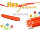 Orange Nail Art Fimo