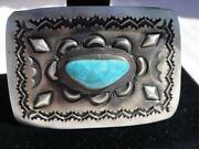 Native American Belt Buckle