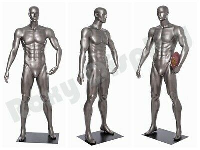 Male Mannequin Muscular Football Player Dress Form Display Mc-brady06