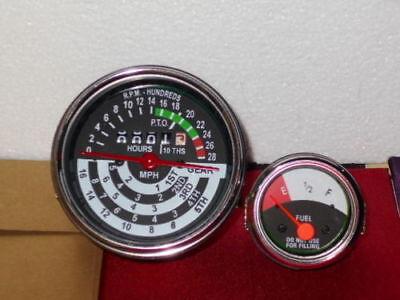 John Deere Tractor Tachometer Fuel Gauge