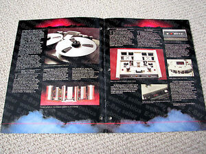 Otari-MTR-90-professional-24-track-multitrack-reel-to-reel-deck-brochure-RARE
