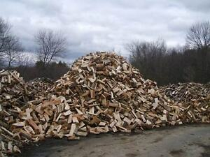 CLEAN  DRY  FIREWOOD  CUT AND SPLIT