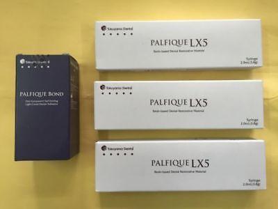 Tokuyama Dental Palfique Lx5 Composite Restorative Kit Of 3 Syringes 1 Bond