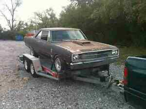 1969 dodge dart barn find