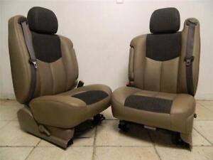 leather bucket seats ebay. Black Bedroom Furniture Sets. Home Design Ideas
