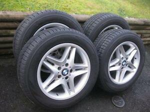 BMW  Original rims plus winter tires  Pneus d'hiver MAG
