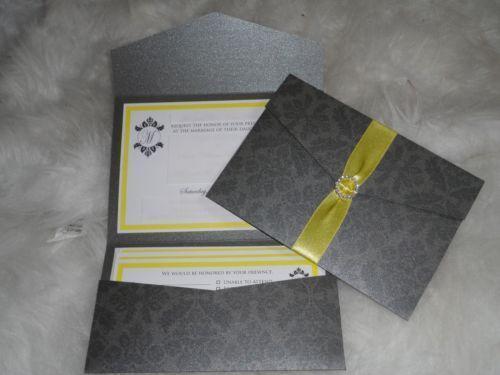 Pocket Folder Wedding Invitation Kits: Pocket Folder Invitation